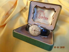 VTG NOS VR RR LANDAU FORTIS 1950 TRIPLE CALENDAR Cal AS 1380 ORGNL BOX SERVICED
