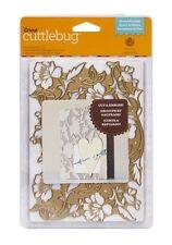 """Cricut Cuttlebug Cut & Emboss Flower Bramble 5""""x7"""" Dies"""