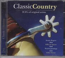 CLASSIC COUNTRY - VARIOUS ARTISTS  - 2 CD'S NEW
