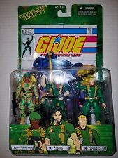 G.I.JOE VALOR v VENOM: SGT. STALKER, DOUBLE CLUTCH, GENERAL ABERNATHY COMIC PACK