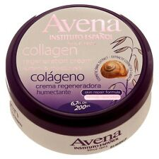 Avena Instituto Espanol Collagen Regeneration Cream Snail Extract Moisturizes