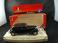 solido L'âge d'or 4102 Citroën Traction 15 CV 1952 neuf 1/43 MIB