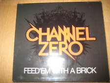 CD Channel Zero ‎– Feed 'Em With A Brick  Thrash Metal Slayer Sixty Nine Soulfly