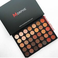 Morphe Brushes 350M Color Nature Glow ALL MATTE Eyeshadow Palette NIB 35OM 35O M