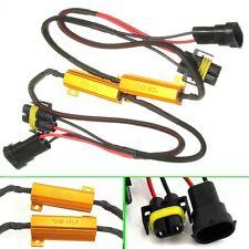 2x CARCHET H11 LED Câble Conversion Résistance Canbus Pour Audi BMW 50W 6Ohm 12V