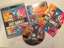 PS3 PLAYSTATION 3 GAME JUST DANCE 2014 +BOX INSTRUCTIONS COMPLETE PAL DISC VGC!