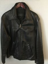 Guess Leather Jacket Men's Size M