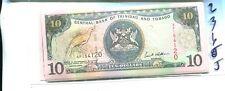 TRINIDAD AND TOBAGO $10 CURRENCY NOTE CU 2365J