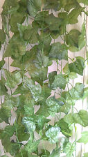 Joblot of 24 Silk Green Ivy leaf foliage Garland Decorations - wholesale type F