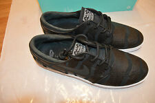 bnib men's Nike SB Lunar Stefan Janoski black/white trainers UK 9.5 EU 44.5