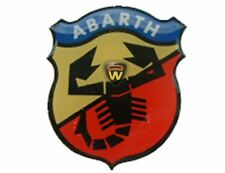 Fiat Abarth Side Skirt Badge Punto Bravo Stilo Seicento Cinquecento Genuine