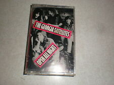The Georgia Satellites CASSETTE Open All Night SEALED