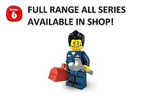 Lego minifigures mechanic series 6 (8827) unopened new factory sealed