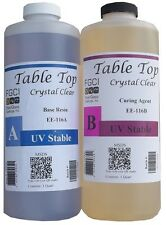 Epoxy Table Top Resin, 2 Quart Kit, Crystal Clear, Includes Part A & B 135370