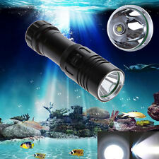 5000LM CREE XM-L2 LED Scuba Diving Flashlight Torch 18650 Light Underwater 100m