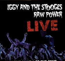Raw Powerlive: In The Hands Of The Fans - Iggy & The Stooges (2011, Vinyl NEUF)