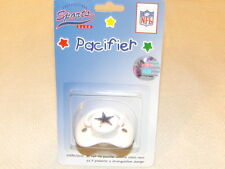 Football Dallas Cowboys NFL Licenced Infant Baby 0-6M Pacifier MIP