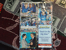 IPSWICH TOWN BACK IN THE BIG TIME- 1992 DIVISION TWO CHAMPIONS SOUVENIR BROCHURE