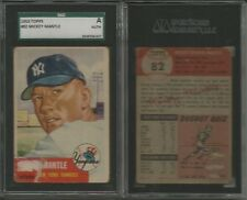 1953 Topps Baseball 160/274 cards set/lot Mickey Mantle #82 SGC High #s Berra @@