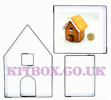 Kit Box Gingerbread House Mini 5 Set - Inc Instructions and Recipe