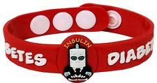 AllerMates MEDIMATES Diabetes Wrist Band Alert Medical ID Insulin Bracelet NEW