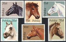 Poland 1989 Horses/Animals/Nature/Transport 6v set ref:b4703