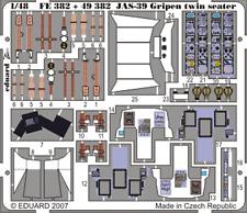 Eduard Zoom FE382 1/48 Italeri Saab JAS-39D Gripen