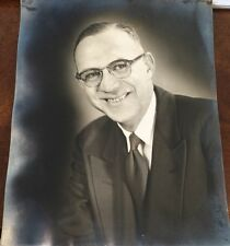 Press Photograph Of Claxton J Goodner Of Goodner Funeral Home Cleveland Tn