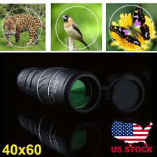 PANDA Day & Night Vision 40x60 HD Optical Monocular Hunting Camping Hiking B