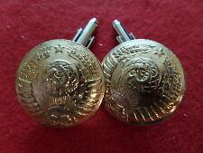 Boutons de manchette Cufflink 25 mm 1976 GÉNÉRAL RUSSIE RUSSIA CCCP URSSS