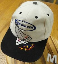 KENNEDY SPACE CENTER HAT EMBROIDERED GRAPHICS AND LETTERING ADJUSTABLE EUC!!