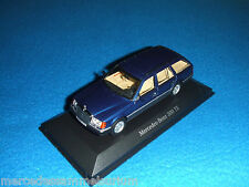 Mercedes Benz S 124 - 300 TE Estate E Class Estate Blue/Blue 1:43 New/New