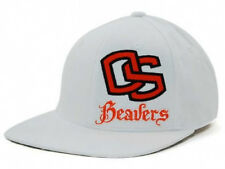 Oregon State Beavers In the Zone NCAA White Orange Fashion Hat Cap Lid OS OR M/L