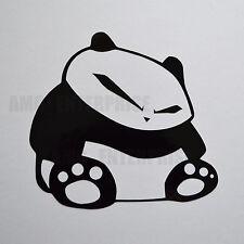Sticker autocollant panda noir en vinyle pour NISSAN 350Z 370Z Juke Qashqai +2 Note Micra