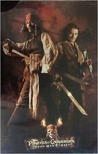 PIRATES OF THE CARIBBEAN DEAD MAN'S CHEST JACK & WILL POSTER 22x34 NEW FREE SHIP