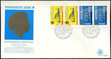 Netherlands Antilles 1985 Local Government Buildings Booklet Pane FDC #C26752