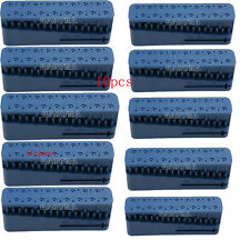 20Kits Dental Endo Block Files Measuring Tools Accessory Endodontic Ruler Blue