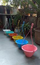 Hanging Basket Pot for Home, Balcony, Terrace Garden Set of 6