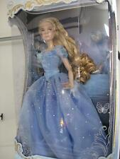 """Disney Store CINDERELLA 17"""" DOLL Limited Edition of 4000 Live Action Movie NEW"""