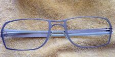 Ic! Berlin Model Vance Grey Silver Titanium Eyewear Eyeglass Frame Germany