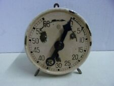 Antique Mark-time  Clock From 30's Or 40's  Timer Wind Up made in Swiss 28277