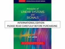 Principles of Linear Systems and Signals, 2nd ed. by B.P. Lathi