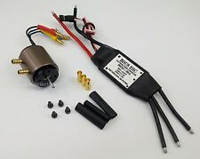 038BK: B2030 Inrunner Brushless Motor w/Water Cooling & 30A ESC Kit for RC Boat