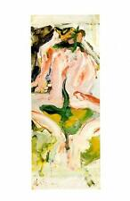 1990-Willem De Kooning: Untitled, 1965-Painting- Vtg Art Print