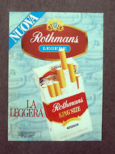 G269-Advertising Pubblicità - 1982 - R6 INTERNATIONAL REEMTSMA