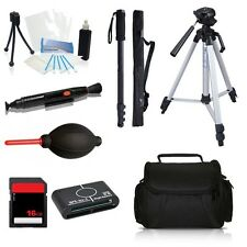 Professional Tripod Accessory Bundle Kit for Fujifilm FinePix HS50 EXR Camera