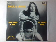 "PAULA ROSE Love finds a way 12"" ITALO DISCO"