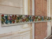 Arazzo floreale lavorato a mano epoca '800, provenienza Nobiliare