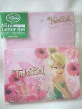 Disney Tinkerbell mini letter set NeW flowers