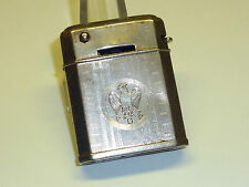 PARKROGER AUTO-CLICK SEMI-AUTOMATIC LIGHTER -LIGHTS IN THE WIND - 1931 - ENGLAND